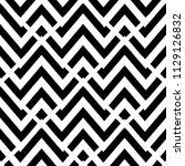 zigzag chevron style vector... | Shutterstock .eps vector #1129126832