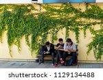 tainan  taiwan   april 8  2018  ...   Shutterstock . vector #1129134488