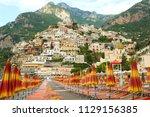 Amazing View Of Positano Town...