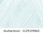 grunge texture. distress blue... | Shutterstock .eps vector #1129159862