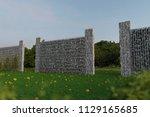 3d rendering of green garden... | Shutterstock . vector #1129165685