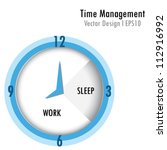 time management   Shutterstock .eps vector #112916992