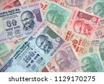 collection of the indian... | Shutterstock . vector #1129170275