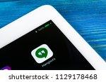 sankt petersburg  russia  july... | Shutterstock . vector #1129178468