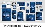 vector set kit collection... | Shutterstock .eps vector #1129190402