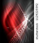 smooth light effect  straight...   Shutterstock .eps vector #1129225592