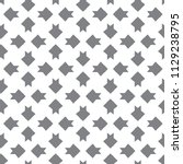 seamless geometric ornamental... | Shutterstock .eps vector #1129238795