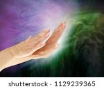 controlling the negative energy ... | Shutterstock . vector #1129239365