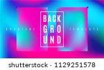 dynamic gradient background... | Shutterstock .eps vector #1129251578
