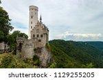 schloss lichtenstein in germany | Shutterstock . vector #1129255205