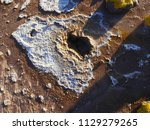 close up picture of a geyser... | Shutterstock . vector #1129279265