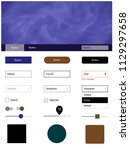 dark blue  yellow vector style...