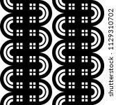 design seamless monochrome... | Shutterstock .eps vector #1129310702