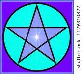 Pentagram Mystical With...