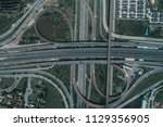 top view  aerial photos ... | Shutterstock . vector #1129356905