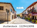 avanos  turkey   july 03  2018  ... | Shutterstock . vector #1129413098