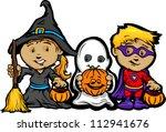 cartoon vector image of a happy ... | Shutterstock .eps vector #112941676