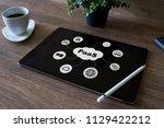 paas   platform as a service.... | Shutterstock . vector #1129422212