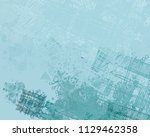 abstract painting on canvas.... | Shutterstock . vector #1129462358