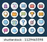 digital marketing design | Shutterstock .eps vector #1129465598