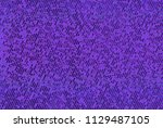 shimmering dots on purple... | Shutterstock .eps vector #1129487105