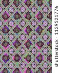 abstract colorful checkered...   Shutterstock . vector #1129521776