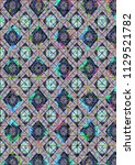 abstract colorful checkered...   Shutterstock . vector #1129521782
