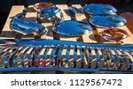 car parts. car details. | Shutterstock . vector #1129567472