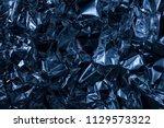 full frame take of a sheet of...   Shutterstock . vector #1129573322