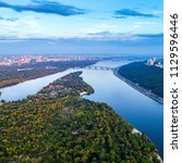 panoramic view of the city of...   Shutterstock . vector #1129596446