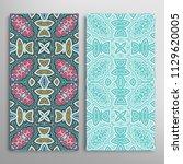 vertical seamless patterns set  ...   Shutterstock .eps vector #1129620005