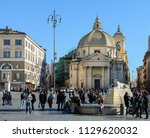 rome. italy. 11. march. 2017.... | Shutterstock . vector #1129620032