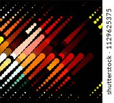 abstract halftone background... | Shutterstock .eps vector #1129625375