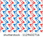 seamless geometric pattern ... | Shutterstock .eps vector #1129632716