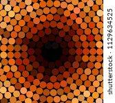 vintage halftone color dots... | Shutterstock .eps vector #1129634525