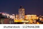 istanbul  turkey   july 8  2018 ... | Shutterstock . vector #1129646288