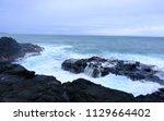 coast of northern kauai hawaii | Shutterstock . vector #1129664402