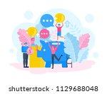 family character vector design. ...   Shutterstock .eps vector #1129688048