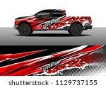 truck decal designs  cargo van...   Shutterstock .eps vector #1129737155