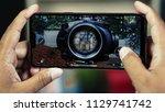 jakarta  indonesia   july 9 ... | Shutterstock . vector #1129741742