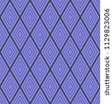seamless illusion pattern ...   Shutterstock .eps vector #1129823006