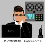 spy and spy equipment | Shutterstock .eps vector #1129827746