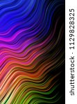 dark multicolor  rainbow... | Shutterstock . vector #1129828325
