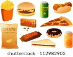 vector illustration of various... | Shutterstock .eps vector #112982902
