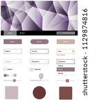 light purple  pink vector ui ux ...