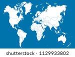 color world map vector | Shutterstock .eps vector #1129933802