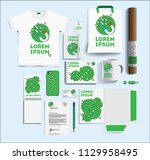corporate identity of the seo... | Shutterstock .eps vector #1129958495