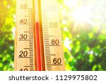 Thermometer Displaying High 40...