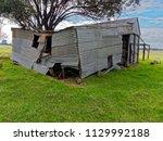 Derelict Corrugated Iron Farm...