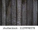 bbq background. burnt wooden... | Shutterstock . vector #1129998578